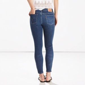 Levi's 711 Skinny Ankle Jeans